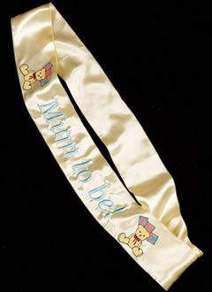 Mum To Be Sash (satin)
