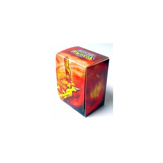 Pokemon Trading Cards Official Moltres Deck Box