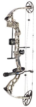 Diamond by Bowtech Outlaw Left Hand Compound Bow with R.A.K. Package, 70#