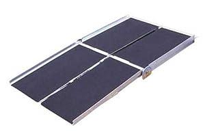 Prairie View Industries WCR830 Portable Multi-fold Ramp, 8 ft x 30 in