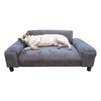 BioMedic Gustavo Dog Sofa Size: Extra Large, Fabric: Faux Leather -