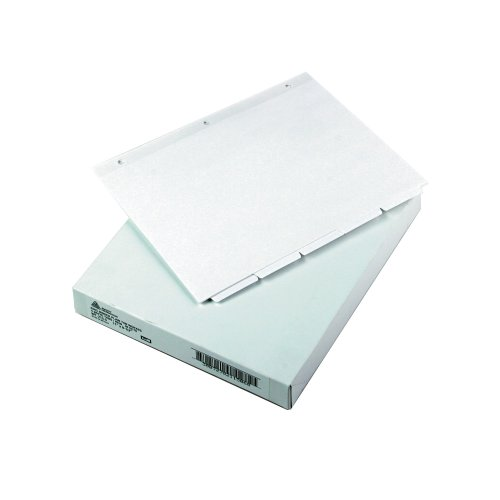 Avery Write-On Tab Reference Dividers, 5-Tab, White, 36 sets (11506)