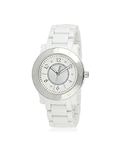 Juicy Couture Women's HRH White/Silver MGI Finished Goods Watch