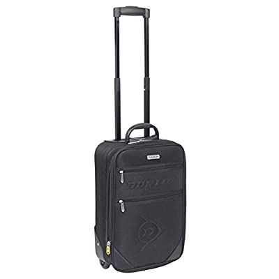 Dunlop Travel Luggage Lightweight Wheeled Holdall Carryall Trolley Suitcase New by Dunlop