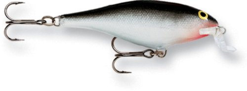 Rapala Shallow Shad Rap 07 Fishing lure (Silver, Size- 2.75)