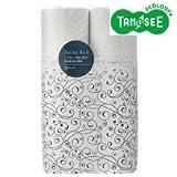 TANOSEE リサイクルトイレットペーパー シングル 60m 1セット(96ロール:12ロール×8パック)