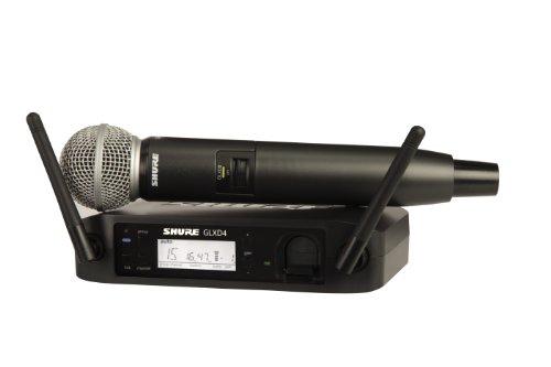 Shure Glxd24/Sm58 Digital Vocal Wireless System With Sm58 Handheld Microphone, Z2