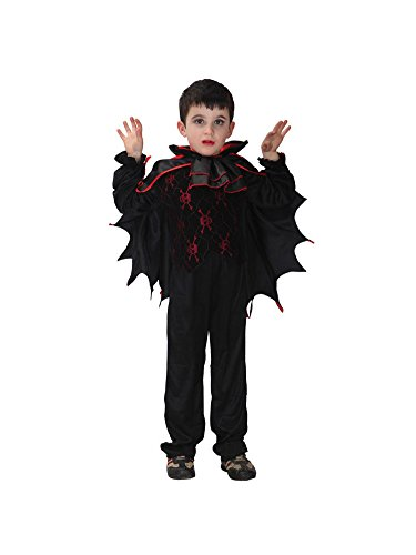 Keral Happy Halloween Bat Kids Cosplay Vampire Prom Dresses