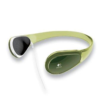 Logitech Curve Headphones For Mp3 - Lime