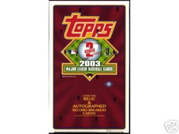 2003 Topps Series 2 Baseball Cards Hobby Box