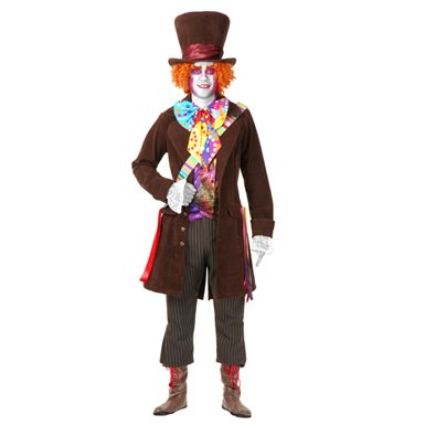 Electric Mad Hatter Boys XL Alice in Wonderland Costume