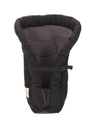 Ergobaby Performance Infant Insert, Charcoal Black front-755476