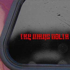 The Mars Volta Red Sticker Decal Rock Band Laptop Die-cut Red Sticker Decal