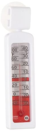 Rubbermaid Commercial FGTHR80C Stainless Steel Blister Carded Refrigerator/Freezer Thermometer