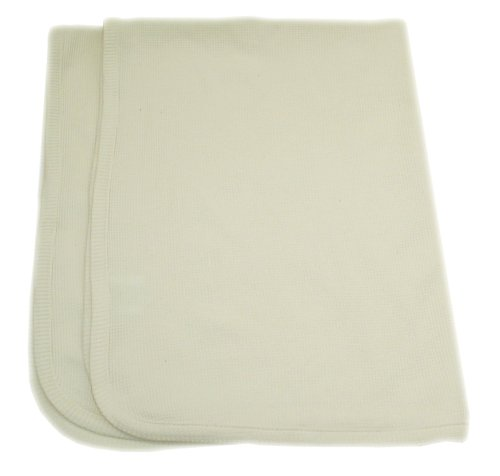 American Baby Company Organic Cotton Thermal Blanket - Natural