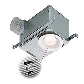 Broan-Nutone 744SFL Recessed Bathroom Humidity Sensing Fan / Light - ENERGY STAR