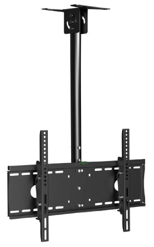 Arrowmounts Am-C101M Tilt Ceiling Mount For 32 To 55 Inches Flat Panel Televisions, Black