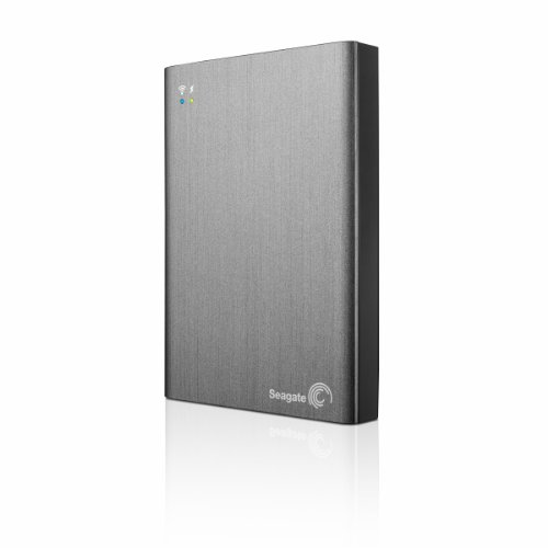 Seagate Wireless Plus 2TB Portable Hard Drive with Built-In Wi-Fi (STCV2000100)