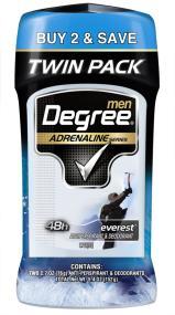Degree Men Adrenaline Series Antiperspirant & Deodorant, Everest 2.7