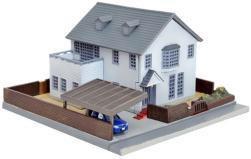 ジオコレ 建物コレクション 015-2 現代住宅 E2
