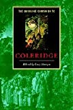 img - for The Cambridge Companion to Coleridge (Cambridge Companions to Literature) book / textbook / text book
