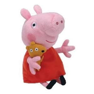 Peppa Pig Ty Beanie Baby, Plush Toys Doll Toy