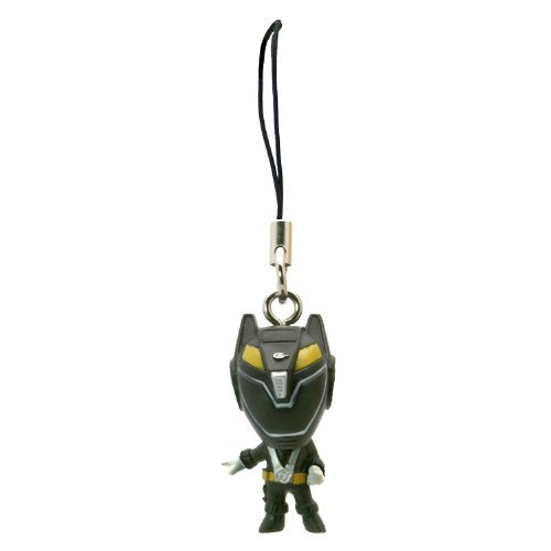 Picture of Bandai Black Ranger - One Power Ranger: R.P.M. (Engine Sentai Go-Onger) Mini-Figure Charm (Japanese Import) (B001KYKEHO) (Power Rangers Action Figures)