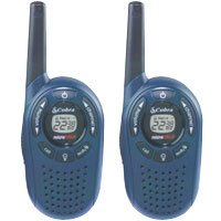 Cobra PR1352 GMRS/FRS 2-Way MicroTalk Radios w/ Backlit LCD Display & Up To 2 Miles Range