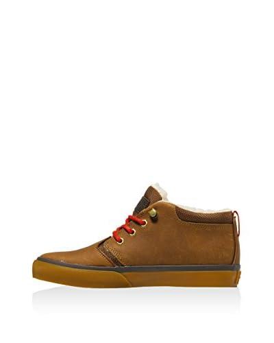 Quiksilver Sneaker Griffin Fg [Marrone Medio]
