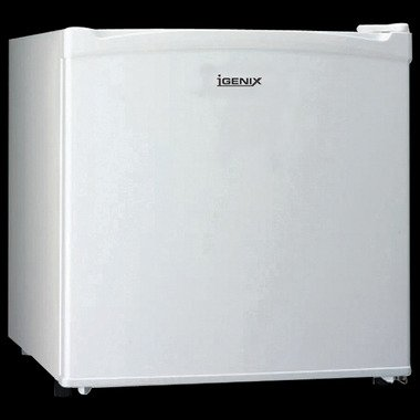 IGENIX IG3700 COUNTER TOP FRIDGE WITH LOCK WHITE
