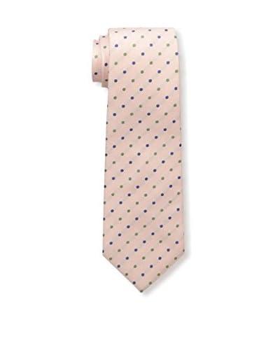 Kiton Men's Polka Dot Tie, Pink