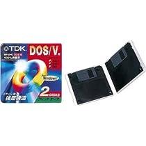 TDK 3.5インチ フロッピーディスク DOS/Vフォーマット2枚パック [MF2HD-BMX2PS]