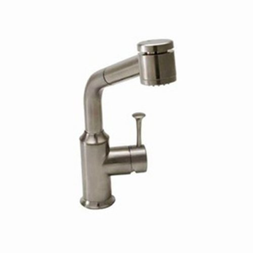 American Standard 4332.100.075 Pekoe Pull Out Kitchen Faucet, Stainless Steel