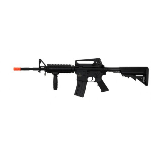 lancer tactical lt-04b m16 ris electric airsoft gun metal gear fps-400(Airsoft Gun) (Airsoft Guns Fps 400 compare prices)