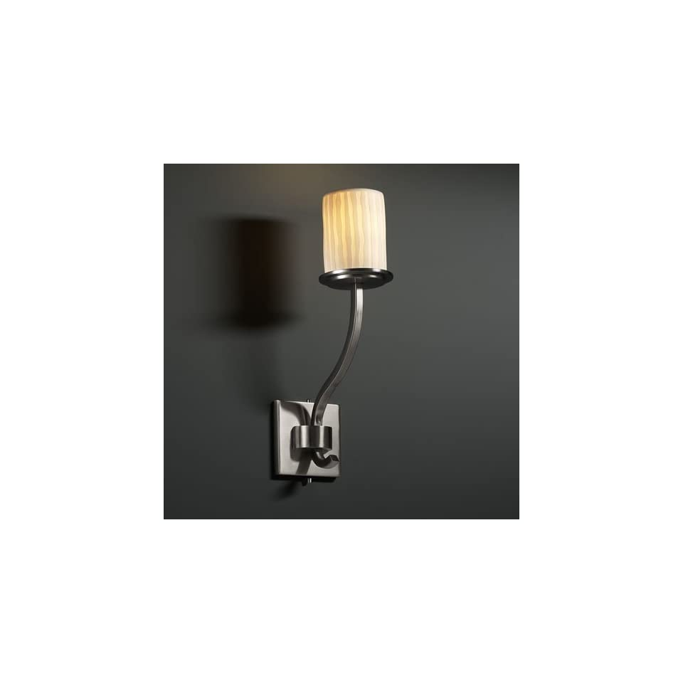 Justice Design Group POR 8784 Sonoma 1 Light Wall Sconce (Tall)