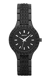 DKNY Glitz Black Dial Women's Watch #NY8302