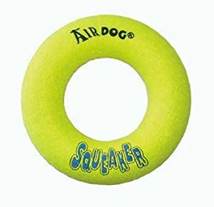 Air Kong Squeaker Donut Medium Asd2 (Catalog Category: Dog / Toys-fleece & Plush)