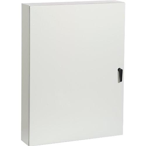 Rittal 8017558 light grey 14 gauge steel single door hinge for 14 gauge steel door