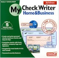 BRAND NEW Mysoftware My Software Checkwriter Home Busines Create Print Personal Checks Deposit Slips