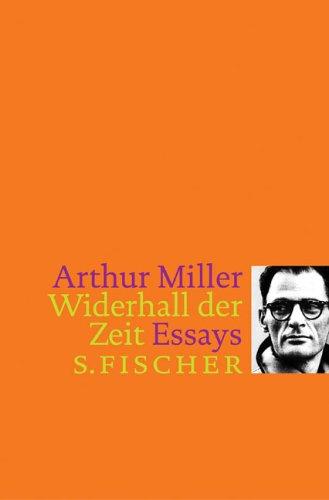 Widerhall der Zeit: Essays