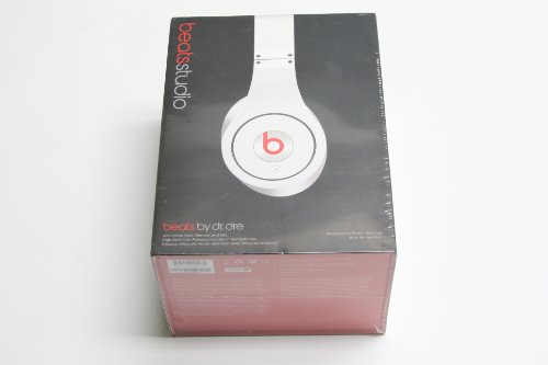 Beats by Dr Dre Studio Over Ear Headphones - White