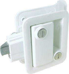 Travel Trailer Lock, Polar White (Camper Door Entry Lock compare prices)