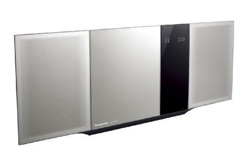 Panasonic コンパクトステレオシステム シルバー SC-HC39-S