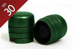 Green Zork Closures - 30 ct.