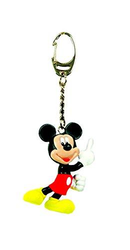 Disney Mickey Figural PVC Keyring - 1