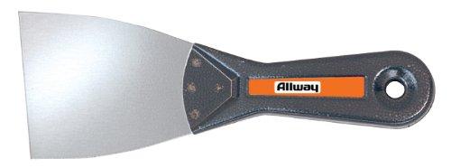Allway Tools 3-Inch Stiff Steel Metal Wall Scraper