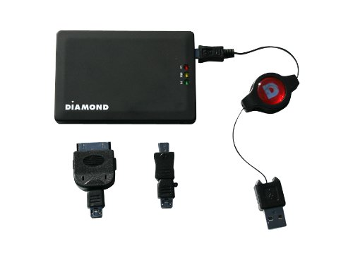 Diamond Multimedia DP1800 Mobile Power Source for iPhone, iPod, Blackberry and HTC Smart Phone