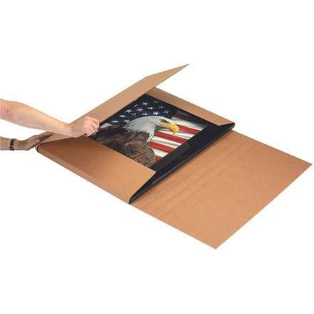 "Aviditi M22186 Corrugated Jumbo Mailer, 22"" Length x 18"" Width x 6"" Height, Kraft (Bundle of 20)"