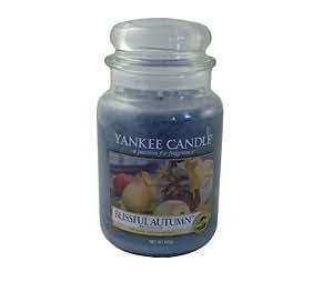 Yankee Candle (Bougie) - Blissful Autumn - Grande Jarre