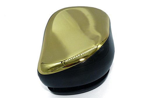 De groviglio di capelli del pettine della spazzola Con P&T (De tangler Hair Brush) salone professionale di qualità districante Spazzola per capelli bagnati o asciutti (oro)